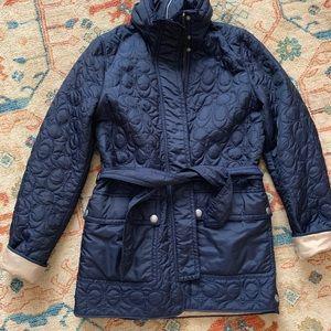 Coach jacket size s, fits size medium